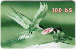 AUSTRIA E-611 Prepaid GlobalLine - Painting, Animal, Bird, Swallow - Used - Austria