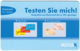 AUSTRIA E-629 Prepaid Median - Communication, Phonecard - Used - Austria