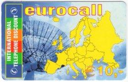 AUSTRIA E-660 Prepaid ICC - Map, Europe - Used - Austria