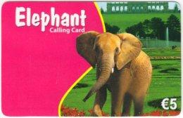 AUSTRIA E-689 Prepaid  - Animal, Elephant, Landmark, Gloriette, Vienna - Used - Austria