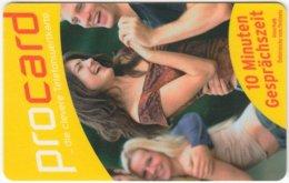 AUSTRIA E-695 Prepaid ProCard - People, Youth - Used - Austria