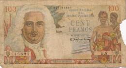H17 - Billet - 100 FRANCS - LA BOURDONNAIS - Caisse Centrale De La France D'Outre-Mer - France