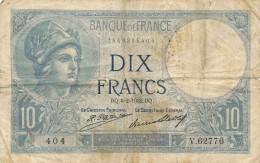 H17 - Billet - 10 FRANCS MINERVE 1932 - 1871-1952 Antichi Franchi Circolanti Nel XX Secolo