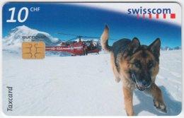 SWITZERLAND A-885 Chip Swisscom - Animal, Rescue Dog - Used - Switzerland