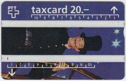 SWITZERLAND A-972 Hologram PTT - Occupation, Chimney Sweep - 504A - Used - Switzerland