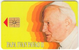 CROATIA C-077 Chip HPT - Pope John Paul II. - Used - Croatia