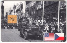 CZECH REP. C-437 Chip SPT - Anniversary, 2nd World War - Used - Czech Republic