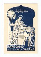 Notre-Dame Du Sahara, Vierge à L'Enfant, éd. Fraternité De Jésus, Touggourt - Images Religieuses