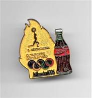 RARE PINS COCA COLA JEUX OLYMPIQUES ATLANTA 1996 N°8  ALTHEROPHILIE OLYMPISCHE DISZIPLIN 1896 /Signé TIM 1992 ACOG/33NAT - Coca-Cola