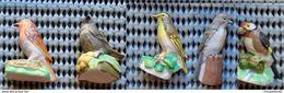 FEVE LOT 5 FEVES LES OISEAUX DES VILLES - Animals