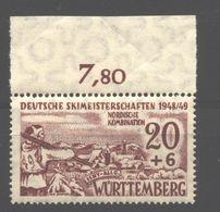 Württemberg,39y,mit OR,xx (5290) - Französische Zone