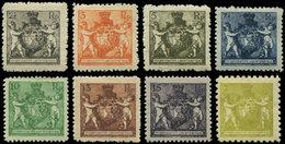 * LIECHTENSTEIN 45A/51A + 44B : Série Courante, TB - Liechtenstein