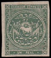 * EQUATEUR 2 : 1r. Vert, TB. C - Ecuador