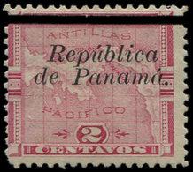 * PANAMA (REPUBLIQUE) 40 Et 40a : 2c. Rose, Sans Accent Sur A + Normal, TB - Panama
