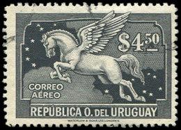URUGUAY PA 38 : 4,50p. Noir, Obl., TB - Uruguay