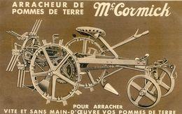 Agriculture - Arracheur De Pommes De Terre Mc Cormick - Vite Et Sans Main D'oeuvre - Agricultura