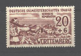 Württemberg,39y,Type III Xx (5290) - Französische Zone