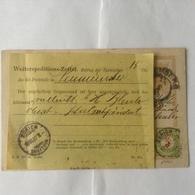 Suisse EP Autr Taxé 1897 - Portomarken