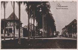 BRAZIL - BRASIL - BLUMENAU - SANTA CATARINA, Rua Dr. Blumenau, RPPC - Edit.: CURRLIN - Brésil