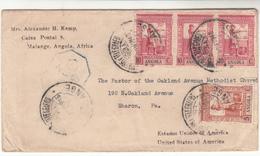 Angola / Postmarks / G.B. Censorship / U.S. - Angola