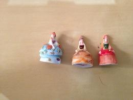 Fève Lot De 3 Princesses Flo - Charms
