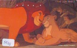 Télécarte  * DISNEY * Japon (110-157478) LION KING   (5328) * JAPAN PHONECARD * CINEMA * FILM MOVIE KINO - Disney