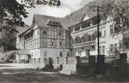 "AK 0826  Bad Blankenburg - FDBG-Erholungsheim "" Albert Hähnel "" / Ostalgie , DDR Um 1967 - Bad Blankenburg"