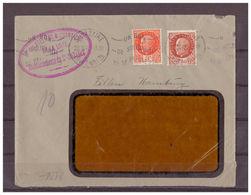 Frankreich, MiNr. 528 + 523 Saint Nazaire Nach Hamburg 28.10.1942 Zensur - Sin Clasificación