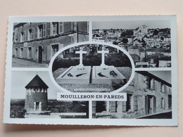 Le Cimétière / Moulins / Les Deux Tombes ( 3 CP : Zie Foto Details ) !! - Mouilleron En Pareds