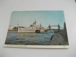 NAVE SHIP GUERRA  H.M.S. BELFAST LONDON - Guerra