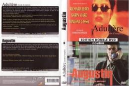 DVD 2 FILMS ADULTERE Et AUGUSTIN  Etat: TTB Port 110 Gr Ou 30gr - DVDs