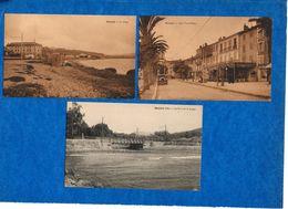 83- SANARY - Lot De 7 Cartes ( Quai Victor Hugo,Pont De La Reppe,villa Micheline  ...vues) Ed Schwob  CPA - Sanary-sur-Mer