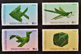 SEMAINE DE LA LETTRE ECRITE 1988 - NEUFS ** - YT 1247/50 - MI 1268/71 - Thaïlande