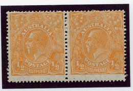 Australia, Yvert 50B, Scott 66a, SG 85, MNH - 1913-36 George V: Heads