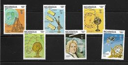 NICARAGUA 1985 COMETE DE HALLEY YVERT N°1382/84-A1120/22  NEUF MNH** - Space