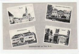 39006001 - Enzersdorf Im Tale. Kirche Schloss Glaswein Jagdschloss Schloss Gelaufen Am 28.05.1925. - Autriche