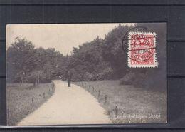 Lettonie - Carte Postale De 1928 - Oblit Liepaja - Exp Vers Breedene - Vue Du Parc Avec Garde - Latvia