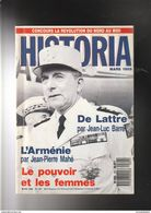 """HISTORIA N° 507 1989 COUV: GENERAL DE LATTRE Poid: 200 Gr """" Très Très Bon état"""" - Geschiedenis"""