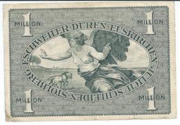 Billet Allemand 1923 1 Million De Mark Bel Etat Port 0,80 N17a - [ 3] 1918-1933 : Weimar Republic