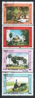 Cambodge N° 1071/74 YVERT  OBLITERE - Cambodia