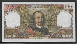 France 100 Francs Corneille - 1-9-1977 - Fayette N°65-59 - SPL - 1962-1997 ''Francs''