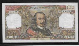 France 100 Francs Corneille - 2-2-1978 - Fayette N°65-61 - SPL - 1962-1997 ''Francs''
