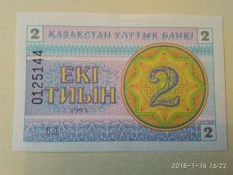 2 Tenge 1993 - Kazakhstan