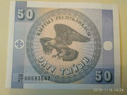 50 Tenge 1993 - Kazakistan
