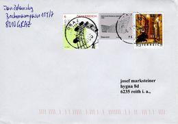 Brief Von 8006 Graz Postpartner Mit 68 Cent Mischfrankatur 2018 - 1945-.... 2a Repubblica