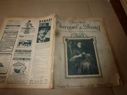 1910 JOURNAL Des OUVRAGES De DAMES & Dessins Décalquables Au Fer Chaud ;Le LIT(antiquité à Nos Jours); Par Laure Tedesco - Kant En Stoffen