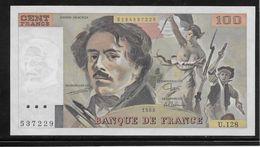 France 100 Francs Delacroix - 1988 - Fayette N°69-12 - SPL - 1962-1997 ''Francs''