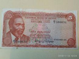 5 Schillings 1974 - Kenya