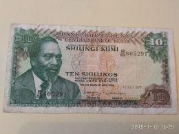 10 Schillings 1977 - Kenya