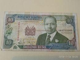 10 Schillings 1992 - Kenya